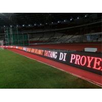 Front / Back Access P16 Perimeter LED Display Adjustable Angle For Football Stadium Manufactures