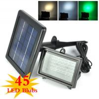 Color Changing Solar Flood Lights / Solar Powered Outdoor Motion Sensor LED Light Manufactures