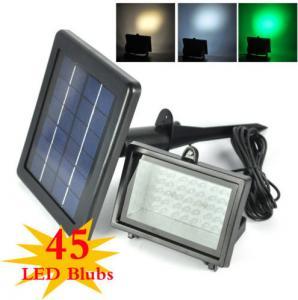 Quality Color Changing Solar Flood Lights / Solar Powered Outdoor Motion Sensor LED Light for sale
