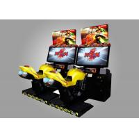 China Real Feeling Motor Simulator Game Machine / Driving Arcade Machines on sale