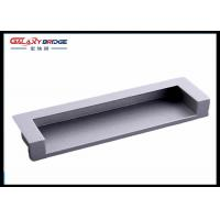 Zinc Alloy Satin Black Hidden Cabinet Door Pulls 128mm GLHH2138 Decoration Manufactures