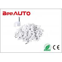 Quality Electrical Wiring Accessories Circle Cable Clips With Steel Nail 4-14mm 100pcs / for sale