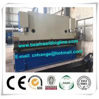 High Tech Steel Plate Bending Machine , Hydraulic Sheet Metal Brake Bending For 160T Manufactures