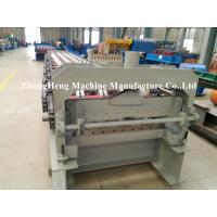 1.2 mm 50hz Floor Decking Steel Door Frame Roll Forming Machine PLC control Manufactures
