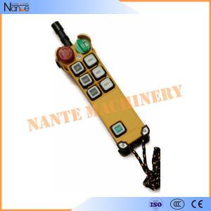 110V / 22V Single speed Wireless Hoist Remote Control 15.6*6.1*5.1cm Manufactures