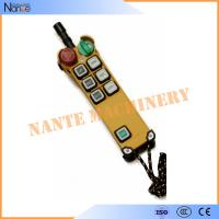 F24-6D Fiberglass Industrial Radio Remote Control With 6 Botones Manufactures