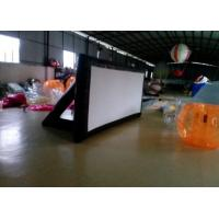 Quality Inflatable Outdoor Movie Screen Frame PVC Tarpaulin Inflatable Projection Screen for sale