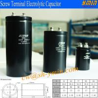 4700uF 500V Capacitor Screw Terminal Aluminum Electrolytic Capacitor for UPS High Power Supply Manufactures