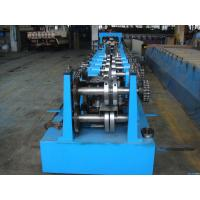 C Z Purlin Interchangeable Steel Rolling Machine / Metal Roll Forming Machine in Middle East Warehouse Building Manufactures