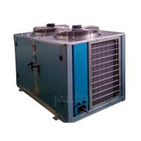 10hp Freezer Condenser Unit , Outside Condenser Unit  U Type Corrosion Resistant For Food Processing Manufactures