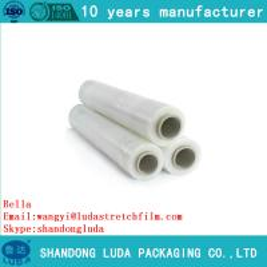China stretchwrap transparent pet film Manufacturer LLDPE Pallet Hand Film Stretch on sale
