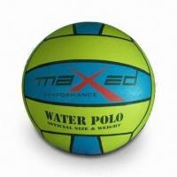Water Polo Ball, CE Certificate, Available in Various Sizes and Weight, OEM Orders Welcomed Manufactures