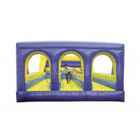 China 3 Lane Bungee Run Game Inflatable Sports Games Blow Up Games For Parties on sale