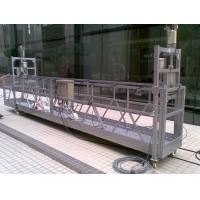 High loading capacity Rope Suspended Platform 3m , 5m for Large tank Manufactures