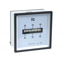 Single Row Vibrating Reed Analogue Meter , Frequency Meter For Class 1.5 Manufactures