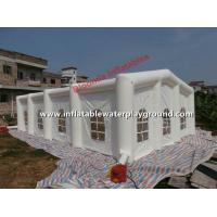 Commercial Inflatable Wedding Tent / Inflatable Family Tent With Windows Manufactures