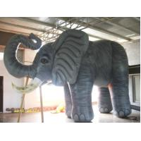 Giant Elephants Animal Inflatable Advertising Products Gray Color Customized Manufactures