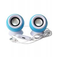 2.0 USB computer speaker, colorful pc speaker with fashion design, super bass stereo sound USB speaker Manufactures