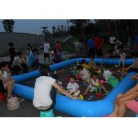 PVC Tarpaulin Inflatable Family Pool Inflatable Beach Sand Pool Manufactures