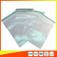 LDPE Plastic Packing Ziplock Bags For Electronic Parts , Zippered Bags For Storage Manufactures