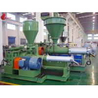 High Precision Plastic Pelletizing Machine 38CrMoAIA With 0.015mm Screw Linearity Manufactures