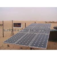 Solar Water Pump for Bore Hole