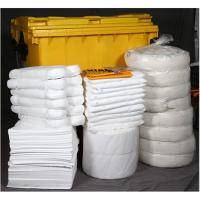 Yellow Wheeled Chemical Spill Kit Corrosion Preventive Various Sizes For Choice Manufactures