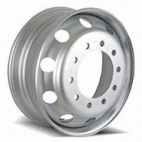 Heavy-duty Truck Wheel Rim with 26mm Hole Diameter and 281mm Center Hole Manufactures