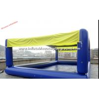 Commercial Inflatable Water Pool , Square Inflatable Pool Tent For Zorbing Ball Manufactures