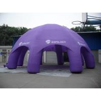 Purple Advertisement Inflatable Party Tent Oxford Cloth Material Manufactures