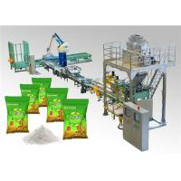 PLC Control Automatic Bag Packing Machine for Washing Powder Open Mouth Bag Manufactures