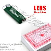 China XF Magic Gambling Marlboro Plastic Lighter IR Camera To Scan Edge Markings Playing Cards on sale