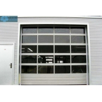 5m Width Insulated Glass Garage Doors Manufactures