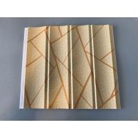 Quality Easy Maintenance Laminated Pvc Wall Panels For Drawing Room 25cm*7.5mm for sale