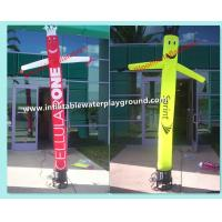 Quality Commercial Grade Advertising Inflatable Dancing Guy Inflatable Wavy Men For Promotion for sale