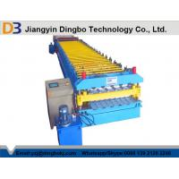 China PPGI Steel Roof Panel Roll Forming Machine / Corrugated Sheet Roll Forming Machine on sale