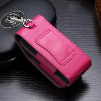 Quality Rose Color IQOS Leather Ecig Case PU Material 45g Travelling Carry Dust Proof for sale