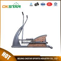 wholesale outdoor fitness equipment park wood outdoor elliptical trainer Manufactures
