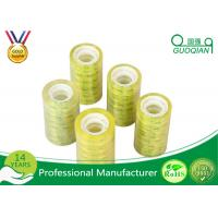 Acrylic Glue Waterproof Transparent Colored Shipping Tape Printed Company Logo Manufactures