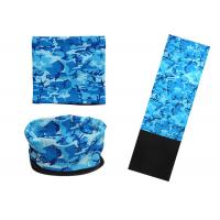 Blue Wind Resistant Polar  Headwear Sublimation Printing Not Faded Deformation Manufactures