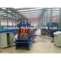 Quality Metal Structure C Channel Roll Forming Machine For Shaft Bearing Steel 24 m / min for sale