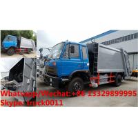 China Bottom price dongfeng 8-10m3 compressor Garbage Truck for sale, Wholesale dongfeng rear loader garbage truck Manufactures