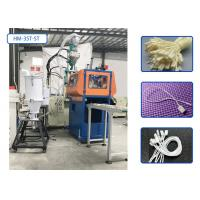 High Efficiency Automatic Plastic Moulding Machine For Plastic Single Leg Hang Tag String Manufactures
