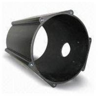 Anodized , Drawbench Industrial Aluminium Profile Cylinder Shell With CNC Machining Manufactures