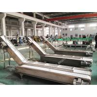 High Stable Industrial Conveyor Belt For Bags Cartons Adjustable Height Manufactures