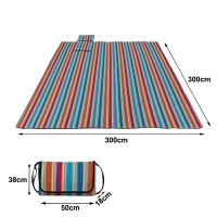 Beach Blanket Sand Proof Outdoor Picnic Blanket Water Resistant Large Mat for Camping Manufactures