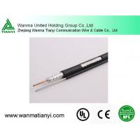 Quality Rg11 Coaxial Cable with Messenger for TV System for sale