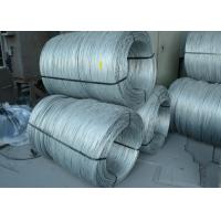 Cold Drawn non Alloy Steel Rope Wire , Bright /  Zinc Coated Steel Wire Manufactures