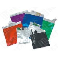 Black / White Custom Print Business Envelopes Aluminum Foil Pouches Manufactures