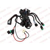 China OEM LED Light Bar Wiring Harness with Switch and Relay - Double Channel , DT Connector on sale